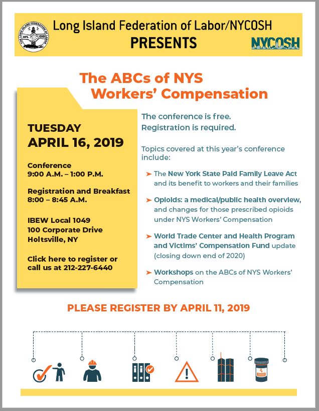 The ABC's of NYS Workers Comp | LI Fed