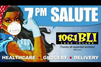 106.1 WBLI Salutes Front Line Workers at 7PM